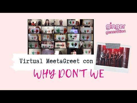 Why Don't We - Virtual Meet&Greet con le fan italiane