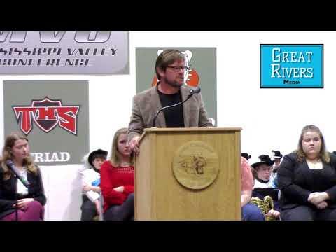 CSM Tom Satterly Speaks At Jersey Community High School
