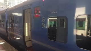 883系・特急青いソニック 博多駅JR九州 鹿児島本線 2015年7月31日
