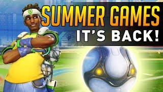 Overwatch - Lucio Ball is COMING BACK!? (PTR LEAK)