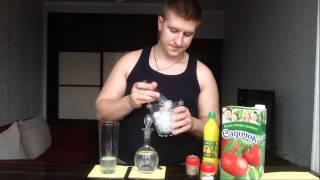 Как приготовить коктейль Кровавая Мэри/Bloody Mary(Всем спасибо за просмотр. Ставил лайки. Комментируем видео., 2014-03-04T18:23:28.000Z)