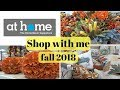 AT HOME FALL SHOP WITH ME 2018 / FALL HOME DECOR SHOPPING / LIFE WITH KRISTY