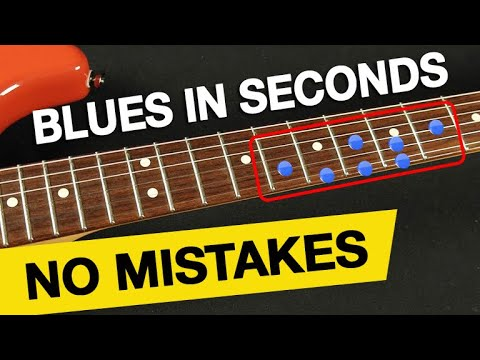 """Best """"Gospel Blues"""" Shape Ever! (SOLO IN SECONDS - NO MISTAKES!)"""
