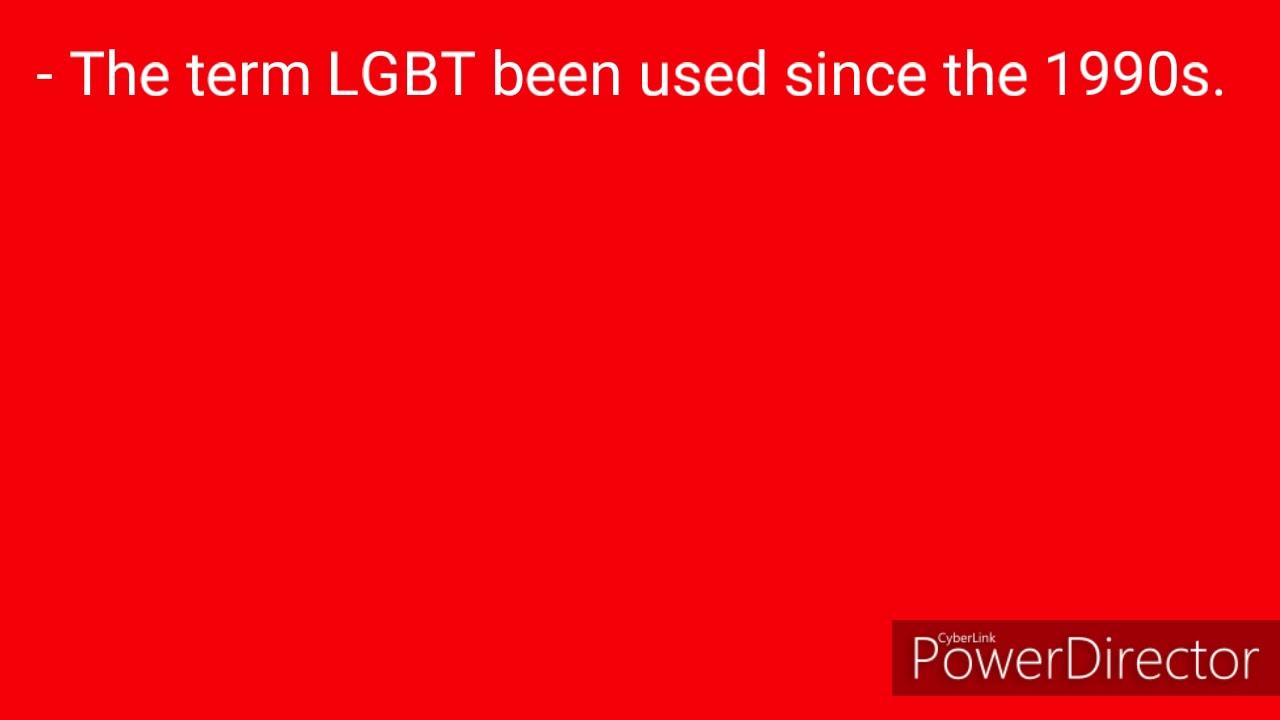 LGBT community fun facts.