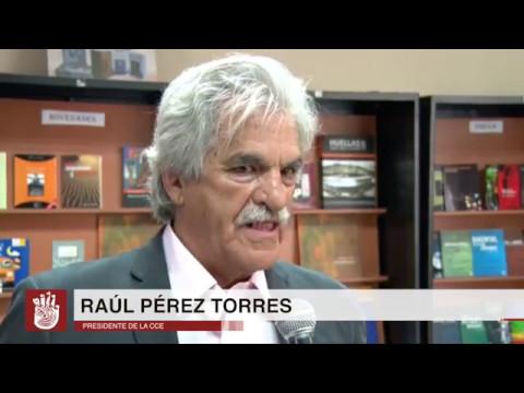 Elecciones Dirección de Pichincha CCE: Raúl Pérez Torres, actual Presidente Nacional