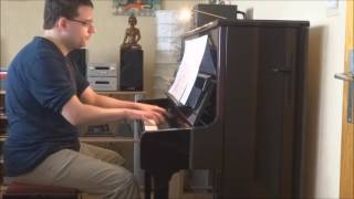 Nat D. Ayer: If you were the only girl in the world (Piano Waltz)