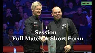 Neil Robertson vs Stuart Bingham FINAL ᴴᴰ (Session-1) W O 2019 ( Short Form )