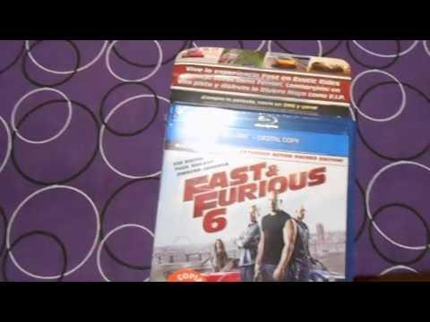 Unboxing Rapidos y Furiosos 6 Blu-ray