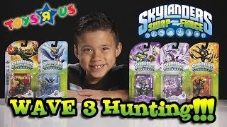"Swap Force WAVE 3 HUNTING at Toys ""R"" Us! Dune Bug, Hyper Beam Prism Break, Phantom Cynder, & MORE!"