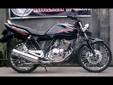 Motor Trend Modifikasi | Video Modifikasi Motor Suzuki Thunder 125 cc Velg Jari-jari Terbaru