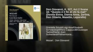 Don Giovanni (2002 Remastered Version) , Act II, Scene Five, Epilogue: Questo è il fin (Donna...