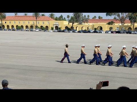 MCRD Marines Graduation