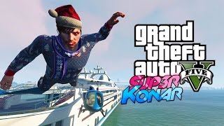 GTA 5 online - Best of funny moments #45 (Catapulte, Yacht, Narcos)