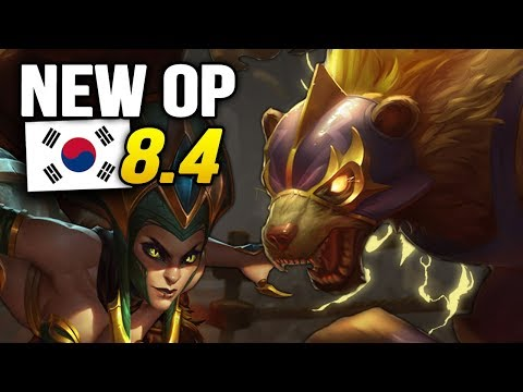8 New OP Builds and Champions in Korea Patch 8.4 SO FAR (League of Legends) thumbnail
