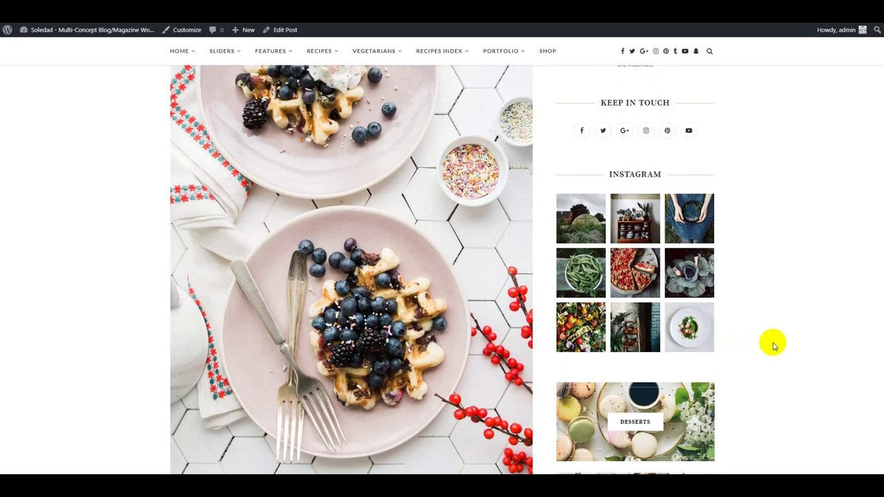 How to create a food recipe wordpress soledad wordpress theme how to create a food recipe wordpress soledad wordpress theme version 4 forumfinder Image collections