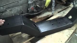 Свап газели часть 4  Двигательный отсек, балки и рамка радиатора