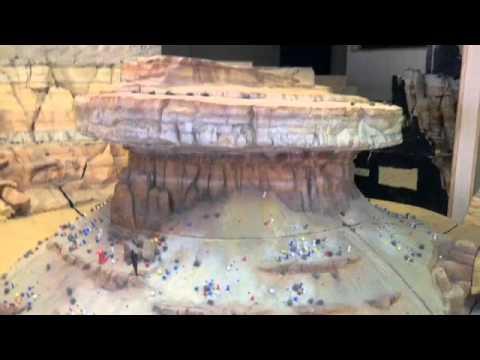 How Disney Built The Cadillac Mountain Range For Cars Land Youtube