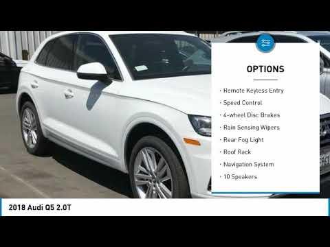 2018 Audi Q5 2018 Audi Q5 2.0T FOR SALE in Bakersfield, CA L1330