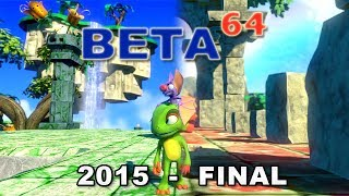 Beta64 - Yooka-Laylee / Project Ukulele