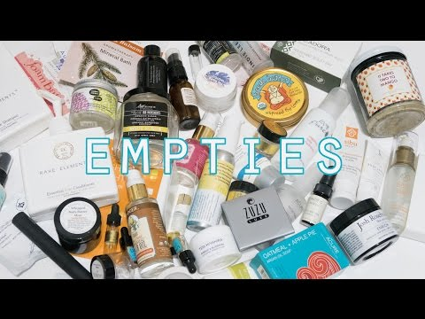 Empties #7 - All the Empties! // Green, Clean, Cruelty Free Products!