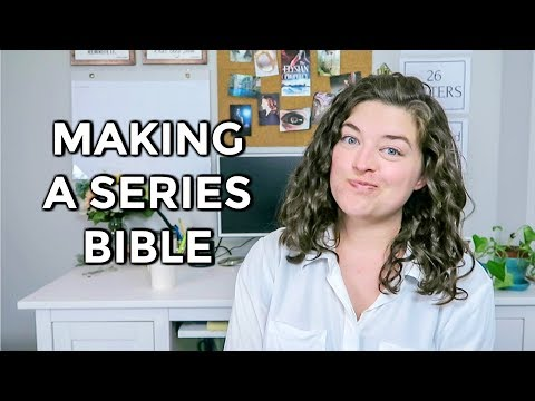 How To Create A Series Bible