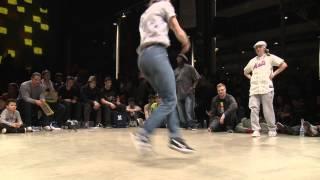 Finale 1vs1 Bgirl : AT (Fin) vs EMILKA (Pol)