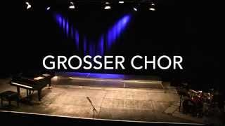 Sing more with Lessing: Großer Chor trifft A-VoiceS