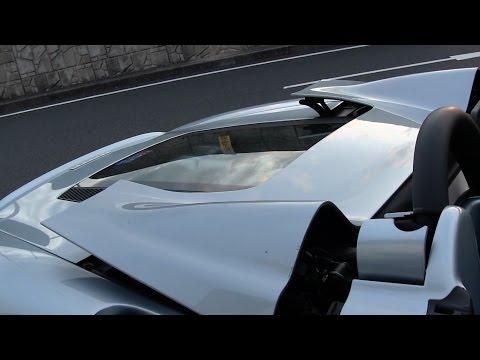 フェラーリ360スパイダー 幌開閉シーン 新型キダスペシャル エンジンサウンド Ferrari 360Spider F1 Folding top opening and closing NEW Kida Special Sound.