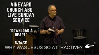 Vineyard Church ABQ 5/16/21 Live Sunday Service