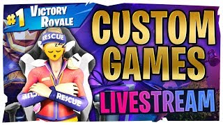 🛑LIVE: 💥CUSTOM GAMES💥Guten Moŗgen Stream😴😲 - Abozocken🙌 - 🎁SKINCONTEST - Fortnite 2 - Deutsch