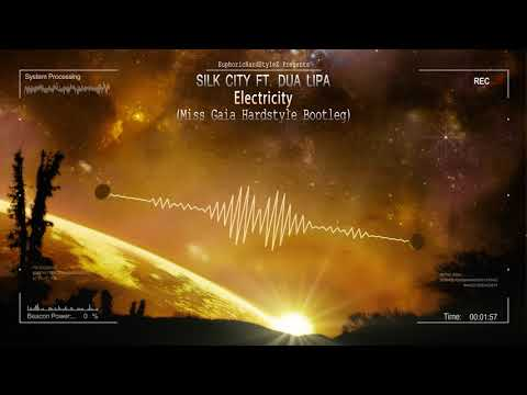 Silk City ft. Dua Lipa - Electricity (Miss Gaia Hardstyle Bootleg) [Free Release]