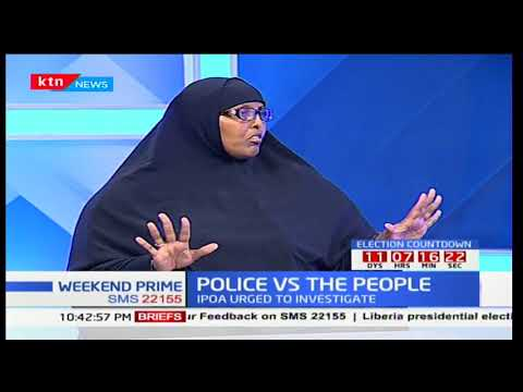 Police Vs the people: Police accused of brutality in a bid to tame NASA protesters
