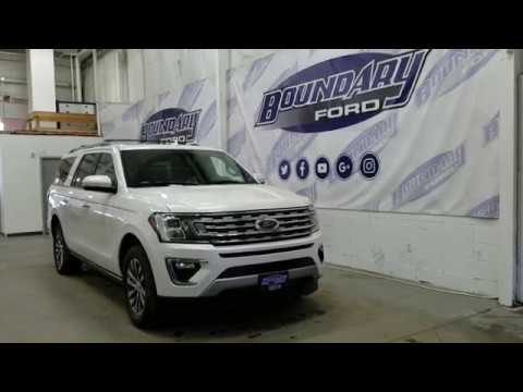 2018 Ford Expedition Limited Max W/ 7 Passenger Seating, Large Moonroof Overview | Boundary Ford