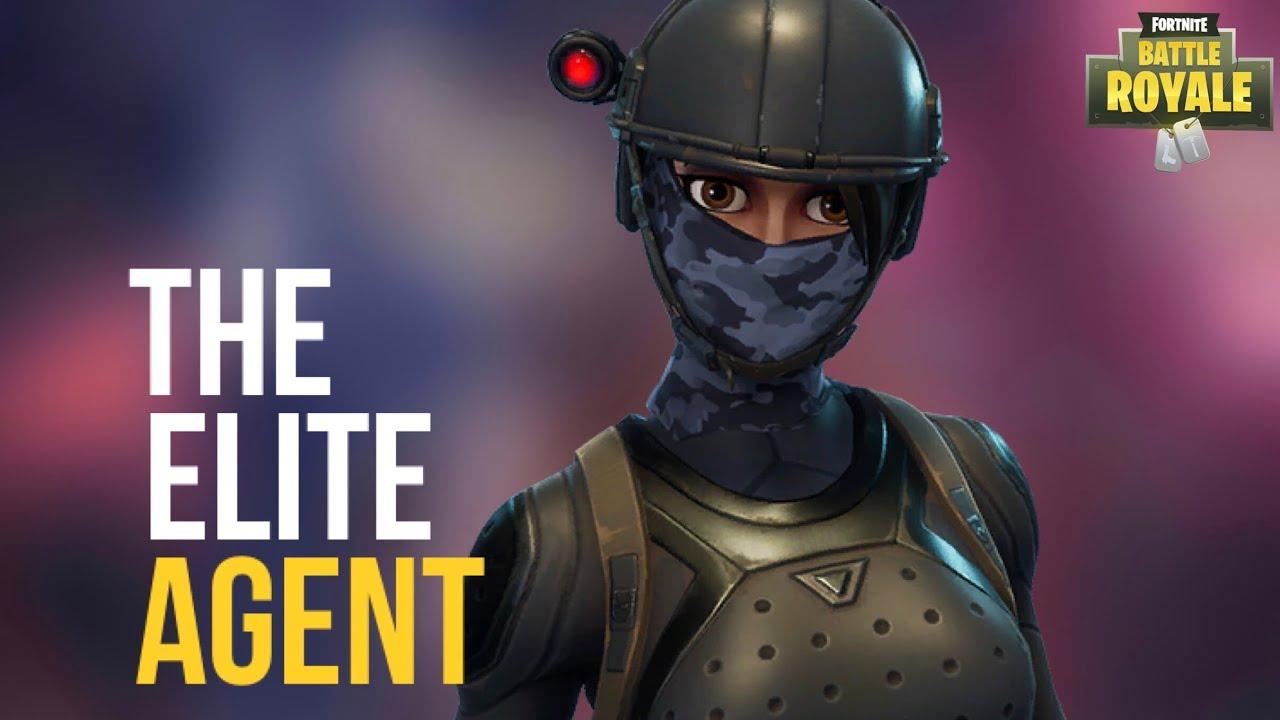 Elite Agent Fortnite Wallpaper Amazing Wallpaper Hd Library