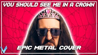 Billie Eilish - You Should See Me In A Crown [EPIC METAL COVER] (Little V) Video
