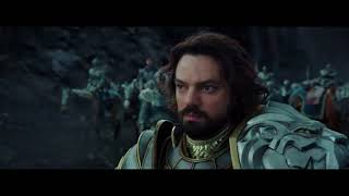 Встреча короля Ллейна и Дуротана.Варкрафт фильм  2016 HD