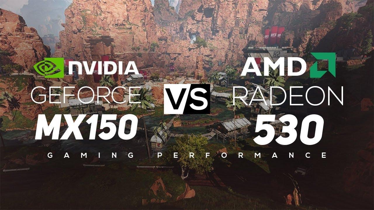 NVIDIA Geforce MX150 VS AMD Radeon 530 2019!