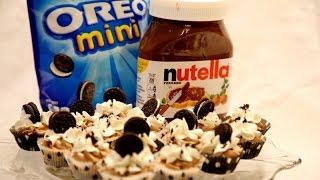 No bake Nutella Oreo Mini Cheesecake Bites - Heghineh Cooking Show