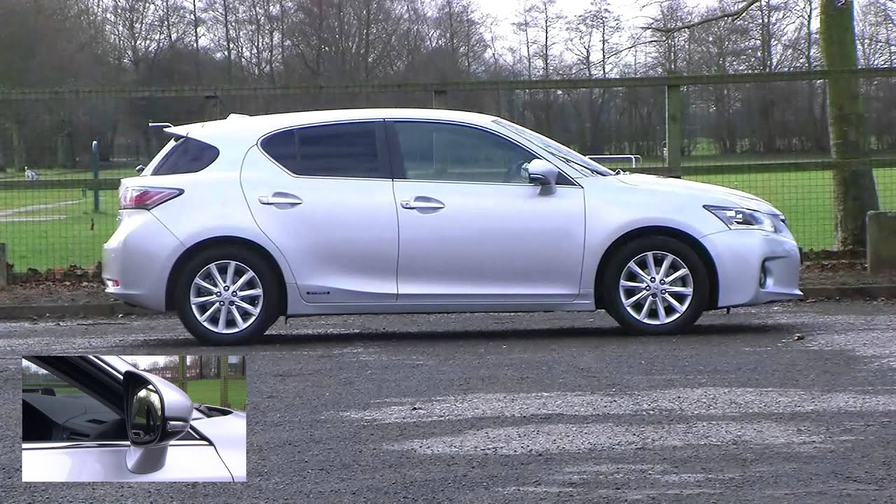 Lexus Ct 200h 1 8 Se L Premier 5dr Youtube