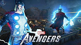 Marvel's Avengers Game - Thor Free Roam Gameplay!