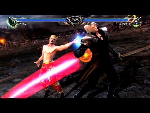 Kefka vs Sephiroth to see who is the better Final Fantasy Villain - Soul Calibur 5