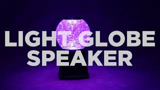 Light Up Globe Speaker - Cool Wireless Bluetooth Music Speaker