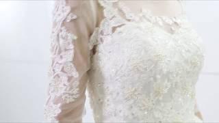 Купить свадебное платье 2018  Vestido De Novia с открытой спиной