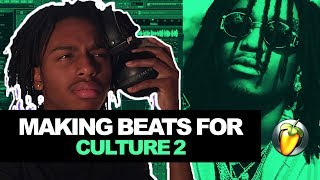 MAKING A BEAT FOR MIGOS CULTURE 2 ALBUM! | Making A Beat From Scratch In FL Studio 2017 [MIDI]