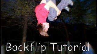 Backflip Tutorial | как сделать заднее сальто - обучалка | сальто назад видеоурок
