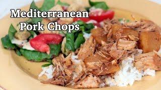 Crock Pot Slow Cooker - Mediterranean Pork Chops