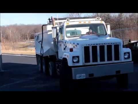 Lot 1- 1985 International F-2574 Dump Truck, VIN # 1HTZPKCR6FHA48871, 108106.4 Miles