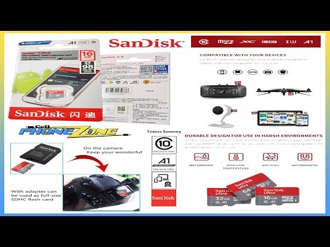 SanDisk Ultra A1 MicroSD Memory Card Review