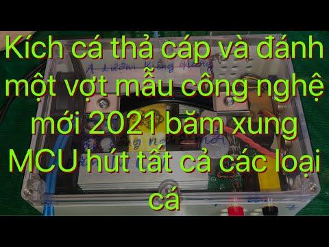Kích cá thả cáp và đánh một vợt mẫu công nghệ mới BĂM MCU (anh luom) kiêng Giang Zalo 0939713518