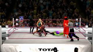 "WWE2K14 WMXXX Sims: Fantasy ""Divas"" 6-Woman Elim Match"